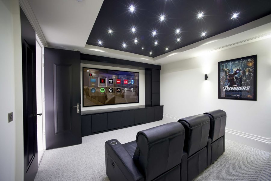 Home Theater powered by Control4 Smart Home